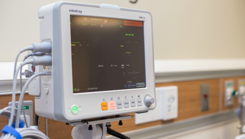 Health City Cardiology Technology Photo - Patient Monitor