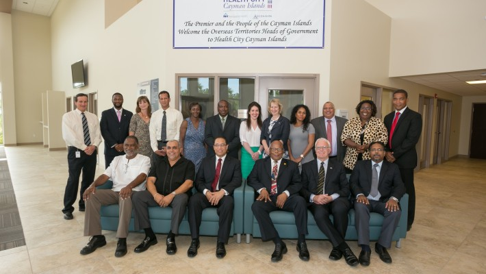 Health City Showcases State-of-the-Art Caribbean Hospital to High Level Caribbean Leaders