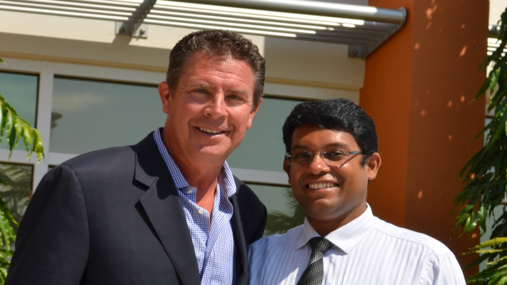 NFL Great Dan Marino Inspires Medical Leader
