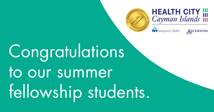 Caymanian college students complete summer fellowship at Health City