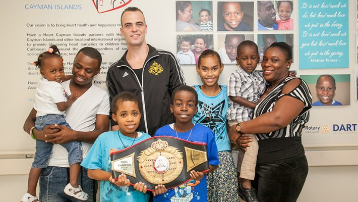 Canadian Boxing Champ Named Sports Ambassador For Cayman Hospital