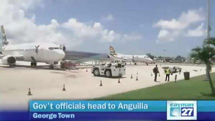 Caymanians Touch Down In Anguilla For Rescue Efforts