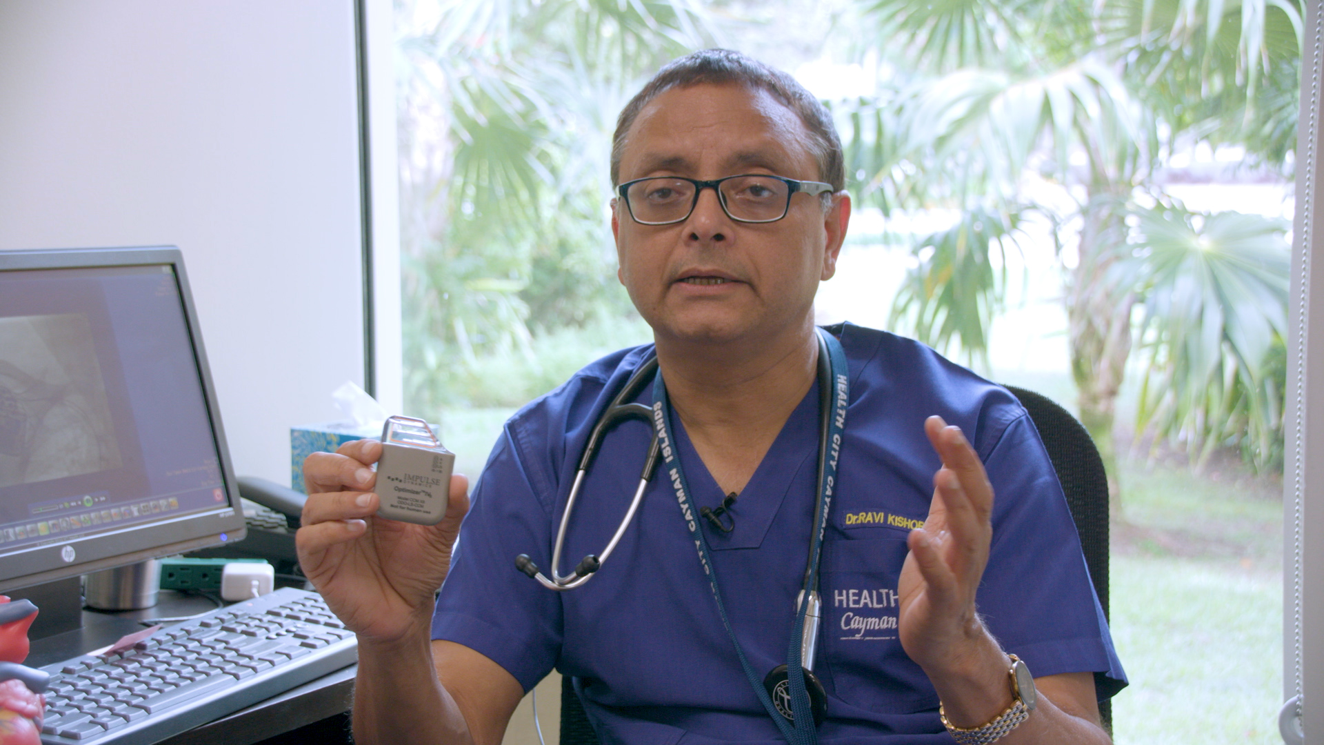 Dr. Ravi Kishore, Chief Interventional Cardiologist and Electrophysiologist at Health City Cayman Islands, has made medical history with the first implantation of a CCM device in the Caribbean, Central and South America.