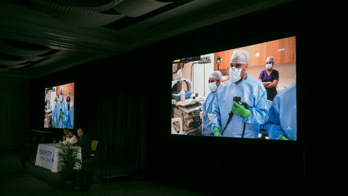 Health City streams live endoscopic procedure at medical education event